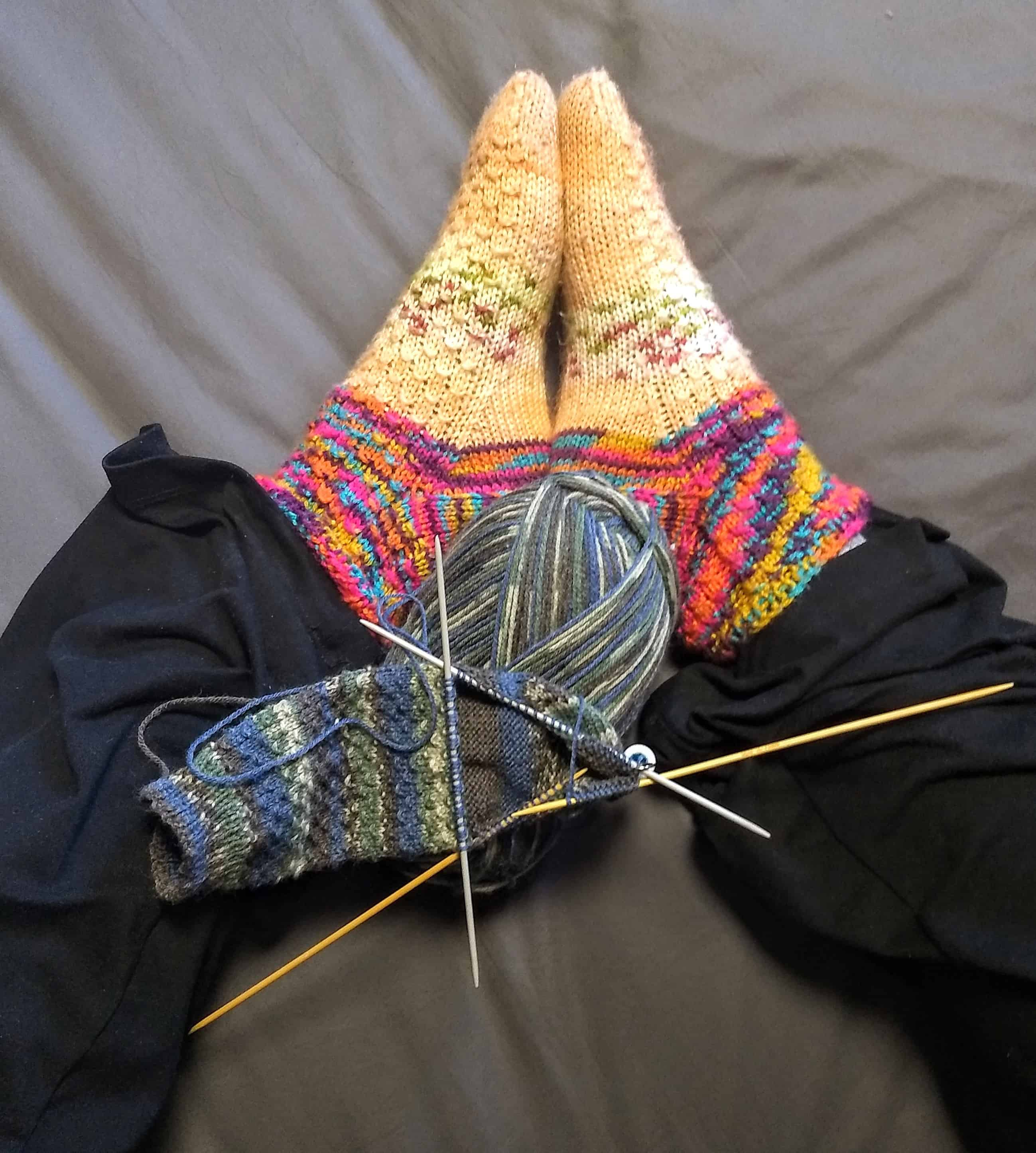 Knitting photo