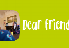 Dear Friend banner